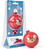 Sonic the Hedgehog - Knuckles - fém gömb - Karácsonyi díszítés