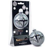 The Mandalorian - Mando - fém gömb - Karácsonyi díszítés