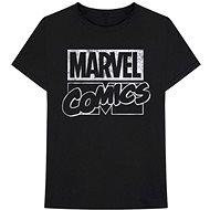 Marvel Comics - Logo - fekete póló - Póló