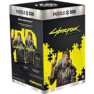 Cyberpunk 2077: Keyart Male V - Good Loot Puzzle - Puzzle
