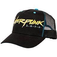 Cyberpunk 2077 - Logo - baseball sapka - Baseball sapka