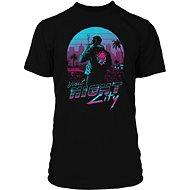 Póló Cyberpunk 2077 - Night City - Póló L