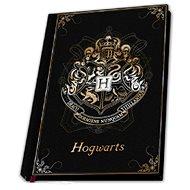 Jegyzetfüzet Harry Potter - Hogwarts - prémium jegyzetfüzet