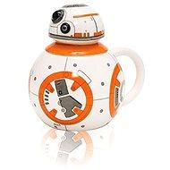 Star Wars - BB-8 - 3D bögre fedéllel - Bögre