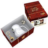 Ajándékcsomag Harry Potter - Hedwig - 3D bögre, medál, jelvény