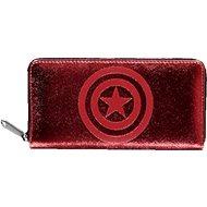 Capitain America - Logo - női pénztárca - Pénztárca