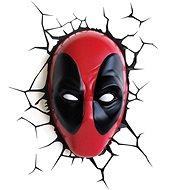 Marvel - Deadpool Face - fali lámpa - Falilámpa