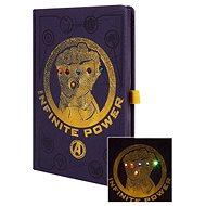 Avengers - Infinity War - világító jegyzetfüzet - Jegyzetfüzet