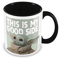 Star Wars Mandalorian - Young Yoda Good Side - bögre - Bögre