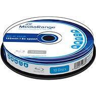 MediaRange BD-R (HTL) 25GB 10db - cakebox kiszerelés - Média