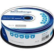 MediaRange BD-R (HTL) 25 gigabyte, 25db-os henger - Média