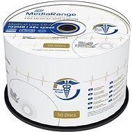 MEDIARANGE CD-R Medical 700MB 48x spindl 50db tintasugaras nyomtatható - Média