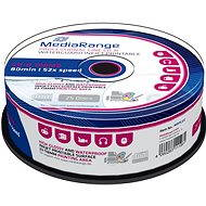 MediaRange CD-R Waterguard 25db cakebox - Média