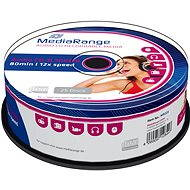 MediaRange CD-R Audio CakeBox 25 db - Média