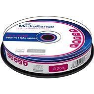 MediaRange CD-R 10db lemez hengeres csomagolásban - Média