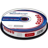 MediaRange CD-RW - 10 db, cakebox