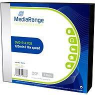 MediaRange DVD-R SLIM 5 db egy dobozban