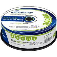 MediaRange DVD-R 25 darabos - Média