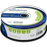 MediaRange DVD-R 25 db, cakebox csomag - Média
