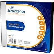 - MediaRange DVD + R 5 db SLIM dobozban - Média