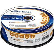 MediaRange DVD+R lemezek, 25 db - Média