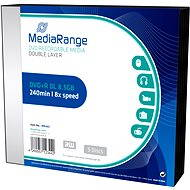MediaRange DVD+R Double Layer - 5db - SLIM dobozos kiszerelés - Média