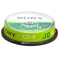 Sony CD-R 10p cakebox - Média