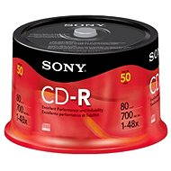 Sony CD-R 50db cakebox - Média