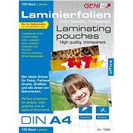 GENIE A4 / 160 fényes - csomag 100 db - Lamináló fólia
