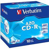 Verbatim CD-R AZO Crystal DataLifePlus 52x, 10 db egy dobozban