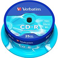 Verbatim CD-R 52x, Pirate Island védelem, 25db-os cakebox - Média
