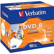 Verbatim DVD-R 16x, Printable 10db dobozonként