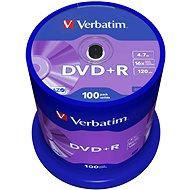 Verbatim DVD +R 4,7 GB 16x sebesség, 100db-os cakebox kiszerelés