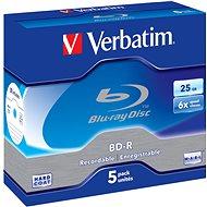 Verbatim BD-R 25GB 6x, 5 db - tokokban - Média