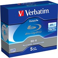 Verbatim BD-R Datalife 25GB 6x, 5db - Média