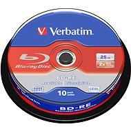 VERBATIM BD-RE SL 25GB, 2x, spindle 10 db - Média