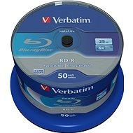 VERBATIM BD-R SL DataLife 25GB, 6x, spindle 50 db - Média