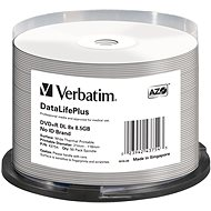 VERBATIM DVD+R DL DataLifePlus 8.5GB, 8x, thermal printable, spindle 50 db - Média