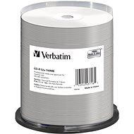 VERBATIM CD-R DataLifePlus 700MB, 52x, thermal printable, spindle 100 db - Média