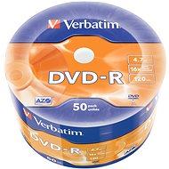 VERBATIM DVD-R AZO 4.7GB, 16x, wrap 50 db