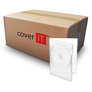 COVER IT doboz: 2 DVD super 14mm clear - karton 100db - CD/DVD tok