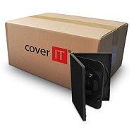 COVER IT doboz: 4 DVD 19mm fekete - karton 100db - CD/DVD tok