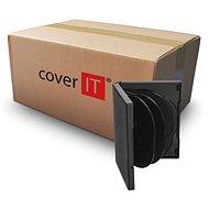 Cover IT box: 8 DVD 27mm black - karton 50db