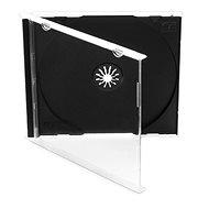 Tartó 1 db lemeznek - fekete, 10mm, 10pack - CD-tok