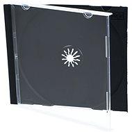 1 db-os tok - fekete, 10mm - CD-tok