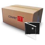 COVER IT 10mm-es CD/DVD tartó+ tálca - 200 db-os kartondoboz - CD / DVD tok