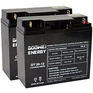 GOOWEI RBC7 - Csereakkumulátor készlet - Akkumulátor