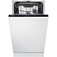 GORENJE GV520E10 - Keskeny beépíthető mosogatógép