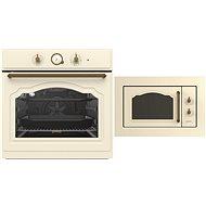 GORENJE BO7732CLI + GORENJE BM235CLI - Beépített tűzhely és mikrohullámú sütő szett