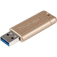 VERBATIM Store 'n' Go PinStripe Anniversary Edition Gold 64GB USB 3.0, arany - Pendrive